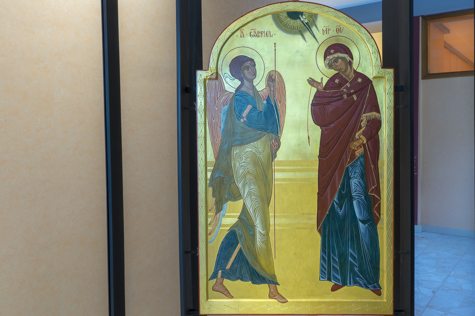 Atrio Annunciazione Mater Divinae Gratiae Brescia