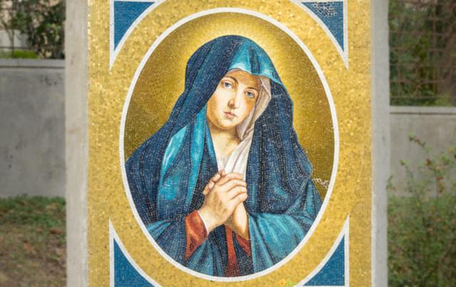 Giardino Consolatrice degli afflitti Mater Divinae Gratiae Brescia