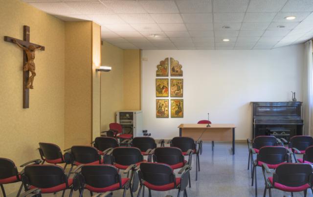 Aula Piano Terra Mater Divinae Gratiae Brescia